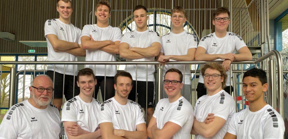 oben/von links: H. Terholsen, C. Erdmann, A. Csonti, K. Kailing, M. Pöhlker unten/von links: K. Völcker, R. Kuhrmann, J. Feldkord, R. Krieger, B. Buttwill, R. Köppe